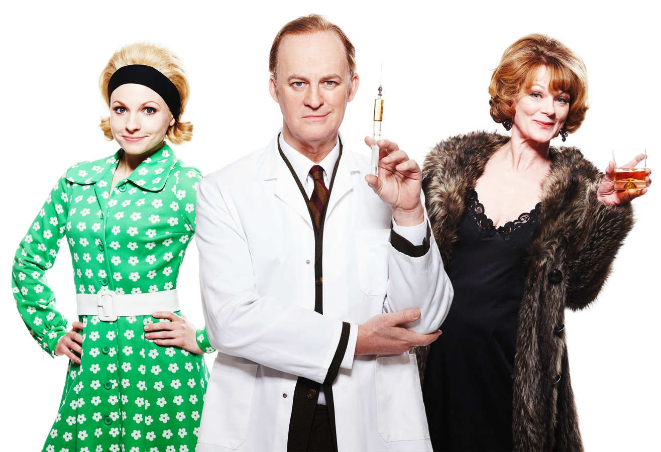 Georgia Moffett, Tim McInnerney and Samantha Bond - What The Butler