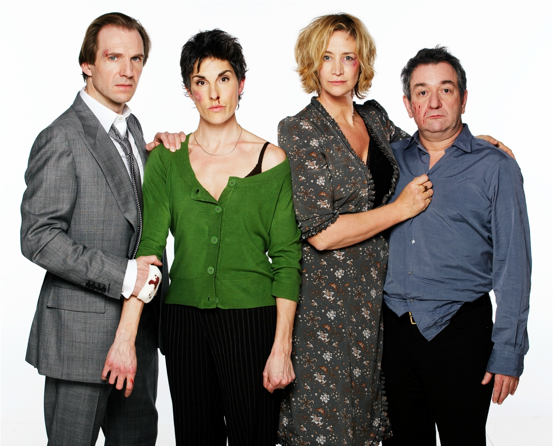 God of Carnage - Ralph Fiennes, Tamsin Greig, Janet McTeer and Ken