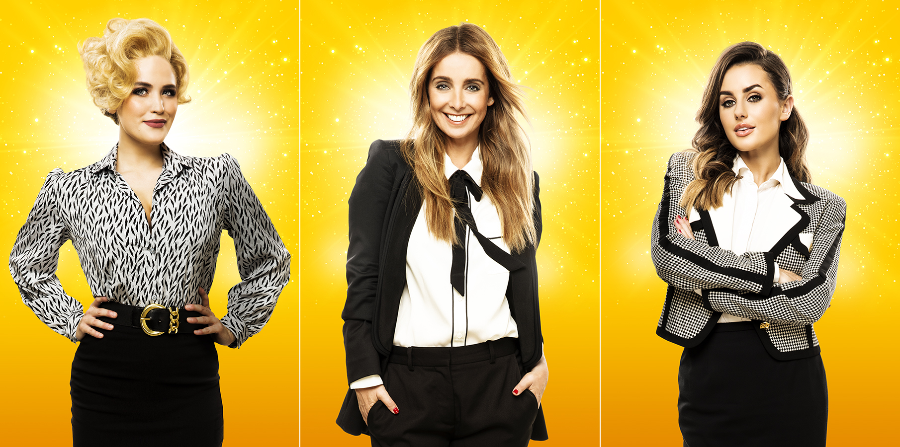 Natalie McQueen, Louise Redknapp and Amber Davies - 9 To 5 The