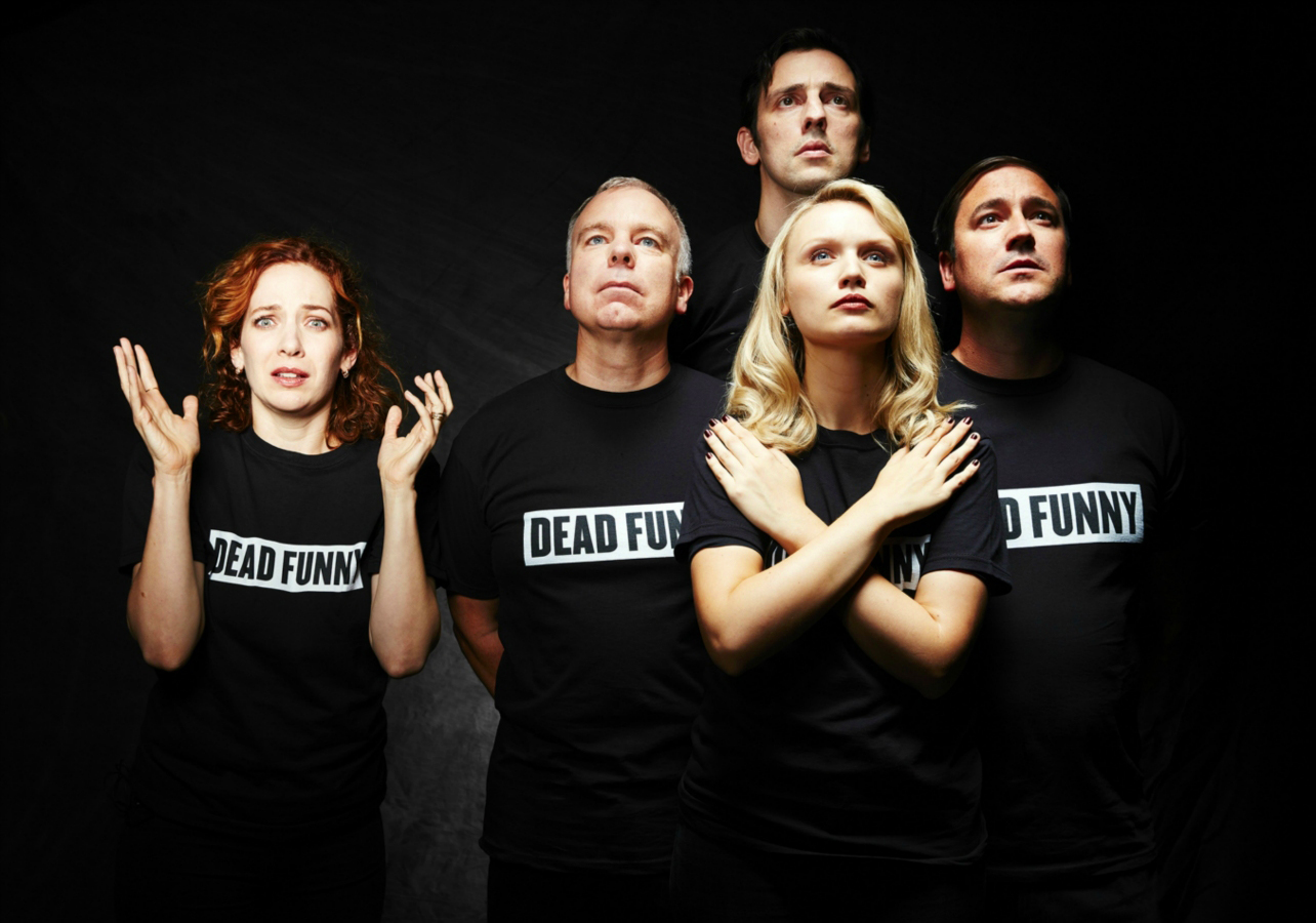 Katherine Parkinson, Steve Pemberton, Ralf Little, Emily Berrington and Rufus Jones - Dead