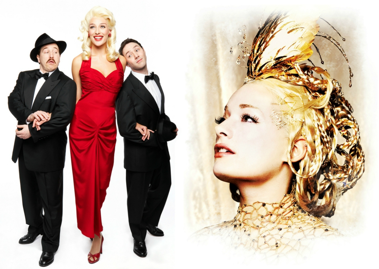 The Producers - Cory English, Rachael McDowall and Reece Shearsmith and Laura Michelle Kelly - Galadriel, Lord of the