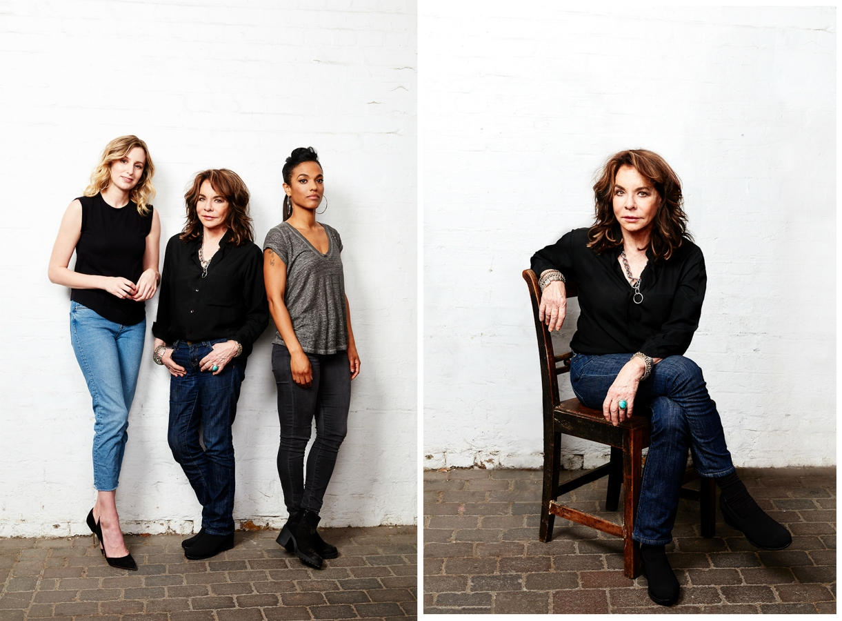 Laura Carmichael, Stockard Channing and Freema Agyeman -