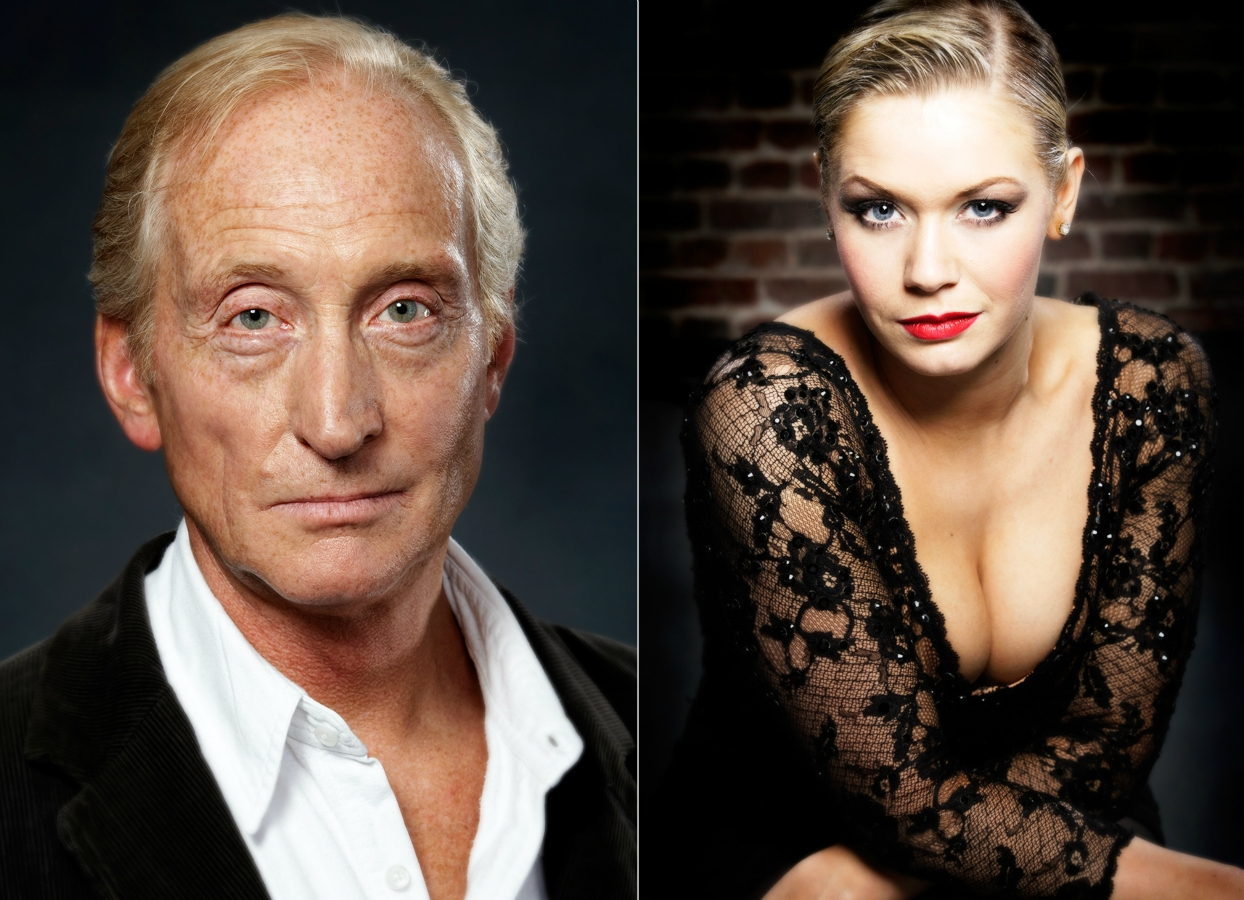 Charles Dance and Suzanne