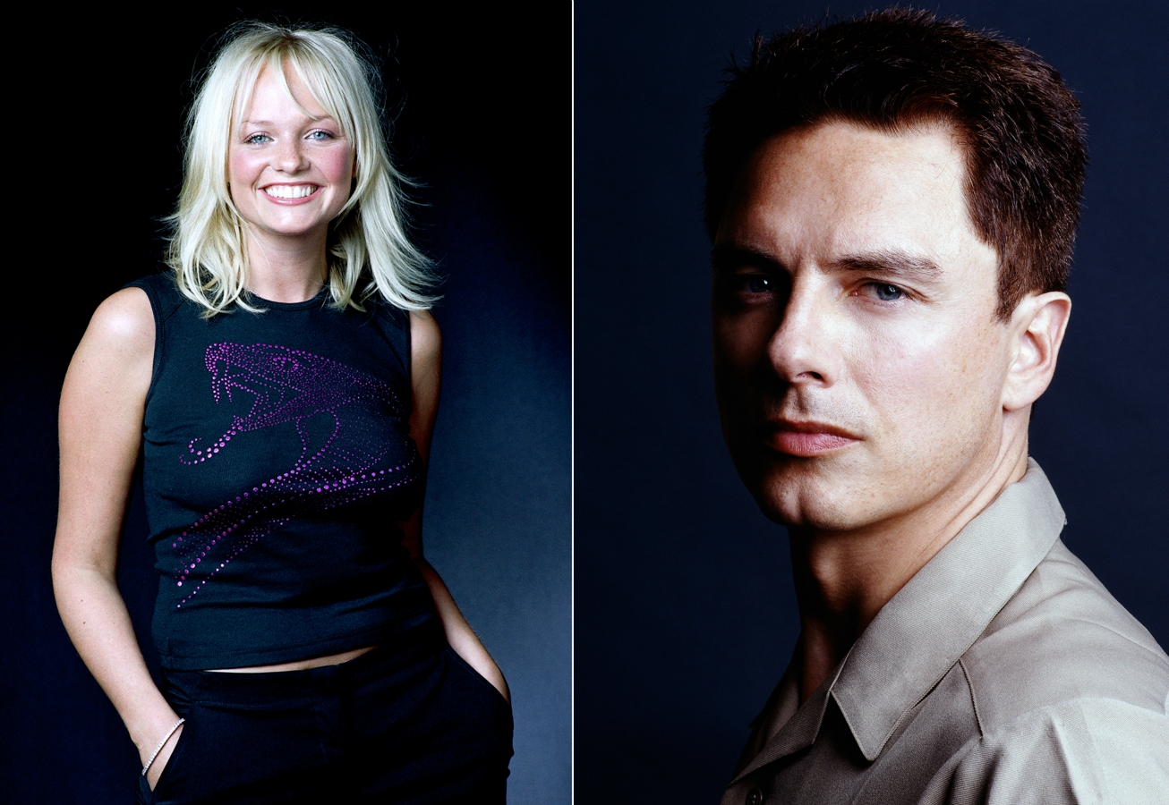 Emma Bunton and John